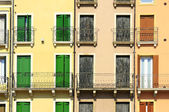 Italian facades — Stock Photo
