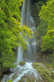Waterfall of Bad Urach — Stock Photo