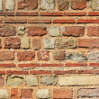 Decorative brickwork — Stock Photo