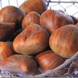 Sweet chestnuts (Castanea sativa) — Stock Photo