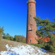 Lighthouse at the Baltic Sea — Stock Photo