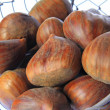 Sweet chestnuts (Castanea sativa) — Foto Stock