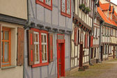 Half timbered houses — Stock Photo