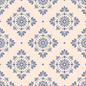 Floral seamless wallpaper — Vetorial Stock