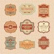 Royalty-Free Stock Immagine Vettoriale: Floral vintage frames
