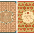 Royalty-Free Stock Vector Image: Vintage retro cards