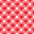 Stock Vector: Abstract pattern with hearts