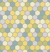 Seamless hexagon pattern — Stock Vector