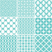 Abstract seamless patterns — Vetorial Stock