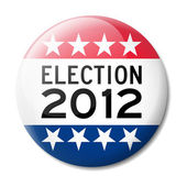 Badge for American election 2012 — Stock vektor