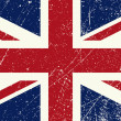 UK flag vintage - Stock Vector