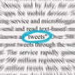 Stock Photo: Tweets 2