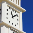 The clock of les Sables d'Olonne — Stock Photo