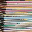 Pile of comics — Stockfoto