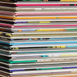 Stock Photo: Pile of comics