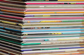 Pile of comics — Stock Photo