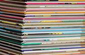 Pile of comics — Stock Photo