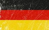 German Flag vintage — Stock Vector