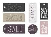 Chic Sale labels — Stock Vector