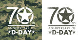 70th anniversary of D-Day — Stock Vector
