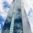 Back Bay John Hancock building in Boston, Massachusetts — Stock Photo