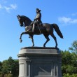 George Washington statue in Boston Common Park — Stock Photo #12663098