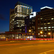 Boston streets by night — Stock Photo #12663198