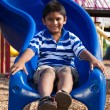 Royalty-Free Stock Photo: Portrait of a cute little indian boy at playground