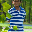 Stock Photo: Portrait of a cute little indian boy