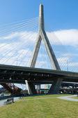 扎基姆桥梁从保罗 · 里维尔在波士顿公园 — 图库照片