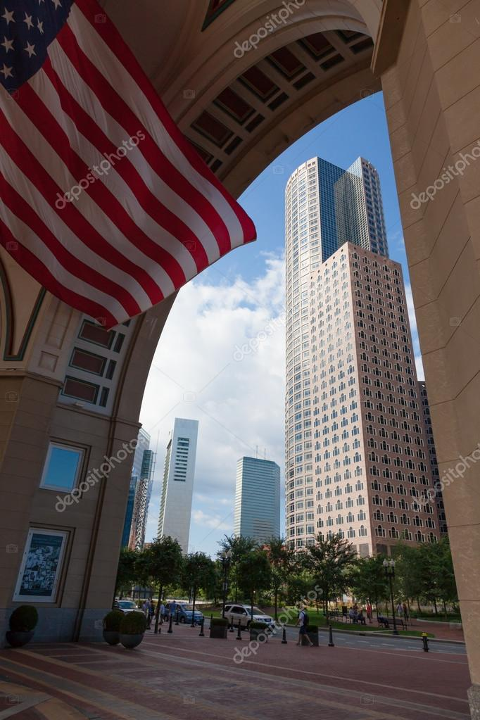 The financial district of Boston, Massachusetts - USA — Stock Photo #12842125