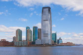 Goldman Sachs Tower, Jersey City in New Jersey — Stock Photo