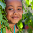 Portrait of a Adorable little African American girl — Stock Photo #17866149