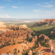 Geological formations in Bryce canyon national park in Utah — Stock Photo