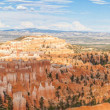 Stock Photo: Paronamic view of Bryce canyon national park in Utah