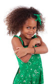 Cute young African Asian girl — Stock Photo