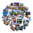 USA famous landmarks and landscapes photo collage — Stock Photo