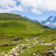 A beautiful view of the french alps — Stock Photo #31375787