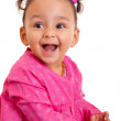 Cute little african american baby girl- Black people — Stock Photo #41286699
