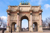 Arc de triomphe du carrousel in Paris - France — Stock Photo