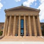 Philadelphia art museum entrance - Pennsylvania - USA — Stock Photo #47444683