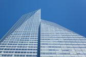 Manhattan skycraper, New York  - USA — Stock Photo