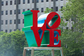 Philadelphia Love Park - pennsylvania - USA — Stock Photo