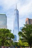 Manhattan skycraper, New York  — Stock Photo