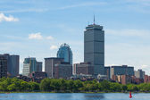 Boston skyline from waterfront , Massachusetts, USA — Stock Photo