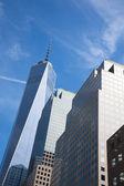 Manhattan downtown financial district, New York  - USA — Stock Photo
