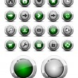 Royalty-Free Stock Vector Image: Web buttons pack