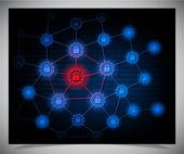 Güvenlik kavramı — Stok Vektör