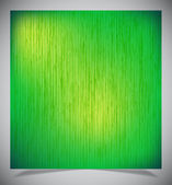 Abstract green wood background — Stok Vektör
