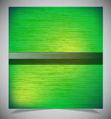 Abstract green wood background — Vector de stock